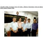 17-01-2012-Visiting Government Sector -- MITI, MATRADE, MIDA & MPC